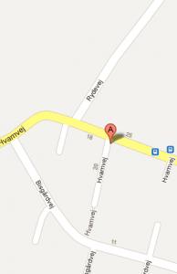 Find vej via Google maps